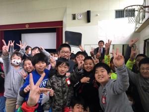 豊田市立若園小学校 感謝の会にて